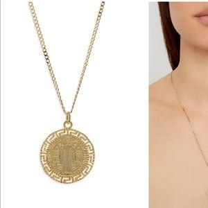 Argento Vivo Coin Necklace NWT